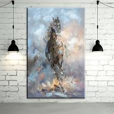 experienced artist hand painted high quality abstract horse oil painting on canvas modern abstract horse