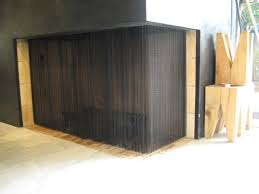 curtain mesh fire screens can be ed to most fireplaces and are ideal where other screens are not suitable e g fireplaces which are elevated