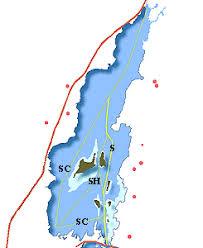 Lake Simcoe Depth Chart Trent Severn Waterway On Line Cruising Guide By Cruising