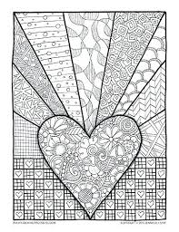 Stress Relief Coloring Pages Printable Anti Online Betterfor
