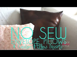 Cheap Decorative Pillows Under 10 Amazing DIY No Sew Decorative Pillows Under 32 YouTube