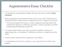 argumentative writing characteristics of argumentative writing  6 argumentative essay