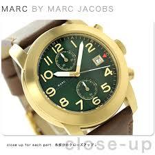 nanaple rakuten global market mark by mark jacobs larry mark by mark jacobs larry chronograph mbm5083 marc by marc jacobs mens watch green brown