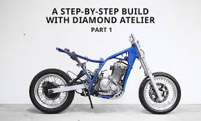 how to turn a dirt bike into a cafe racer part 1 highsnobiety