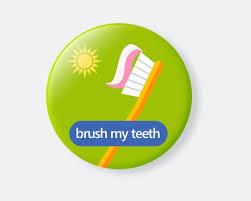 Individual Chore Chart Magnet Brush Teeth Chore Magnet Magnetic Chore Chart Magnet Chart Routine Kid Calendar Chores Tasks For Kids