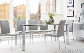 dining decor rectangular table large black ideas top modern wood tables glass chairs excellent chair decorating