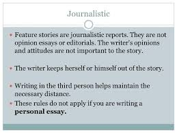 journalism yearbook mr beary writing feature stories ppt  4 journalistic