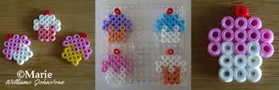 Mini Perler Bead Patterns Fascinating Perler Bead Cupcake Patterns To Make