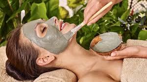 natural diy masks for acne problem skin spa treatment