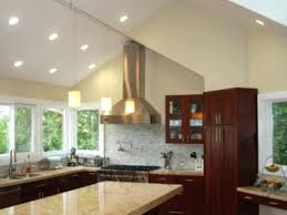 installing recessed lighting vaulted ceiling kitchen track holiday