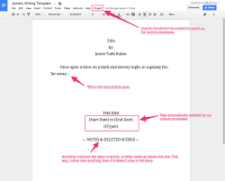 Format Google Docs Template Jamie Todd Rubin Business Plan Table Of