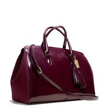 Lyst - Coach Legacy Pinnacle Large Lowell Satchel in Polished Calf ...