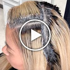 How To Break The Base When Coloring Hair Behindthechair Com