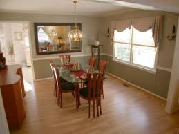 dining room color schemes chair rail. dining room on hardwood floors chair rail and crown moldings two tone paint color schemes h