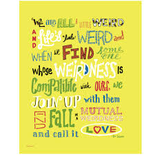 Dr Seuss Weird Love Quote Poster Interesting Download Dr Seuss Weird Love Quote Poster Ryancowan Quotes
