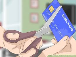 How To Turn In A Lost Credit Card 8 Steps With Pictures