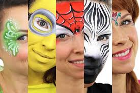how to paint your face a step by step easy guide