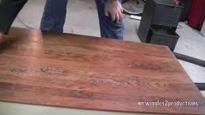 Refinish Kitchen Table Top Refinishing A Wood Table Youtube