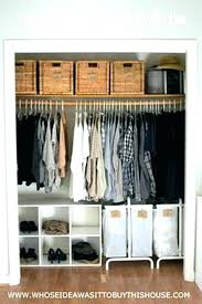 wood free standing closet systems ytem