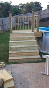 above ground pool steps. Best Above Ground Pool Ladders Reviews Round Designs Steps