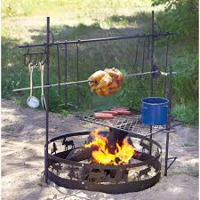Outdoor Fire Pit Cooking Accessories