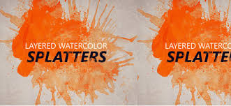 free watercolor brushes illustrator 45 free watercolor ink and splatters brushes for photoshop