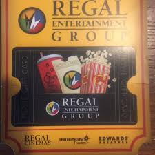 Regal Cinemas Gift Card Can Be Used At The Theaters Depop