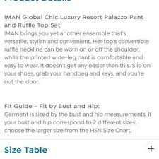 Nwt 2 Piece Palazzo Pant Ruffle Top Set Size L Nwt