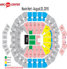 Yum Center Seating Chart Kevin Hart Yum Center Seating Chart Kevin Hart Elcho Table