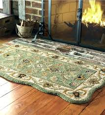 fireplace rugs fireproof hearth home depot