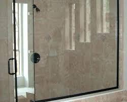 shower water guard glass door best way to clean doors splash frameless bathtub