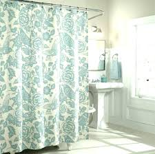 hookless extra long shower curtain oversized shower curtain ruffle shower curtain dove extra long extra long
