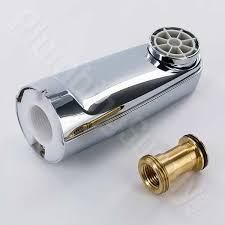 image of the tub spout with brass insert adapters brass adapter type spout