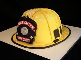 Fireman Helmet Grooms Cake Cakecentralcom