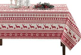 ultimate textile poly cotton twill 60 inch round tablecloth red kitchen dining 30a8gru7z