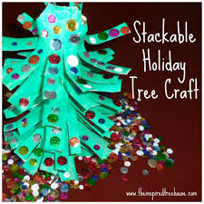 Christmas Crafts For Kids A Christmas Craft For Fine Motor Skills The Stackable Tree