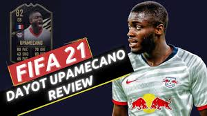 FIFA 21 DAYOT UPAMECANO PLAYER REVIEW - 82 RATED INFORM UPAMECANO REVIEW! -  YouTube