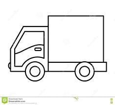 Coloriage De Camion De Livraisonll