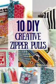 10 Creative Zipper Pull Tabs. Zipper PullsSewing CraftsSewing ...