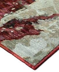 3 x 8 runner oriental weavers evolution area rug red rugs round
