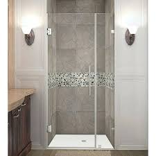 interesting 5 foot shower doors large size of glass shower doors all glass shower doors bathroom