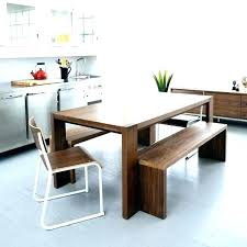 dining table with bench seats. Dinner Table With Bench Modern Dining Seats