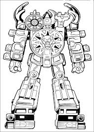 Power Rangers Coloring Pages Getcoloringpagescom