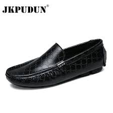 <b>Plus Size 38-48</b> Men Shoes Casual Luxury Brand Genuine Leather ...