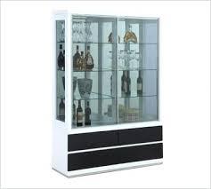 corner display cabinet glass also white corner display cabinet with glass doors