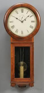 mahogany seth thomas regulator no 2 wall clock t