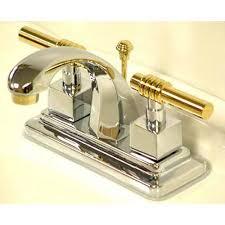 milano widespread chrome polished brass bathroom faucet. milano chrome and polished brass centerset bathroom faucet widespread
