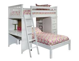 Bonneau Twin Loft Bed with Lower Platform Bed