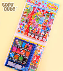 Sticker Vending Machines Awesome Buy Kawaii Interactive 48Page Sticker Play Set Vending Machines At