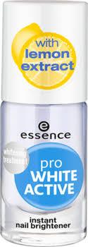 <b>Отбеливающий лак</b> для ногтей Pro White Active <b>Essence</b> купить в ...